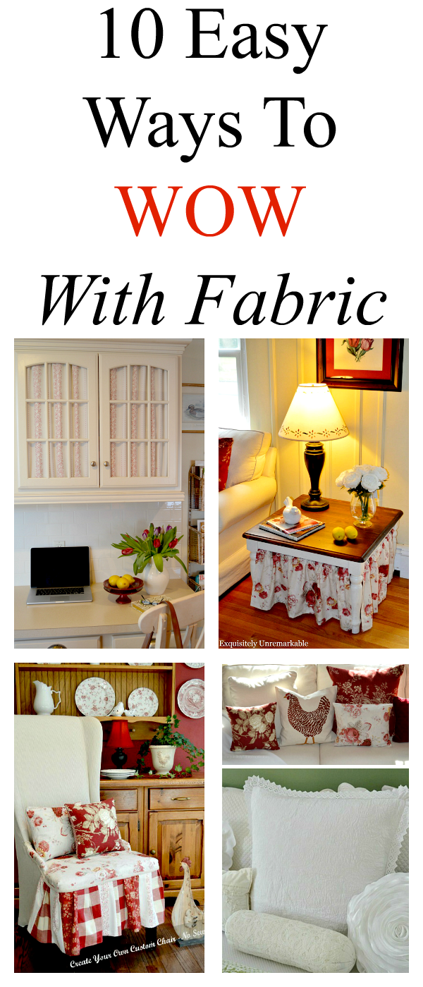10 Easy Ways To Decorate Your Home With Fabric