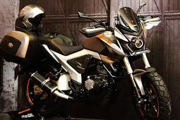 Modifikasi Lampu Motor Untuk Motor Mega Pro Paling Memukau