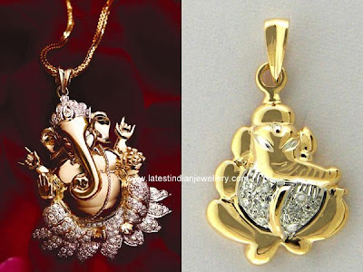 latest Diamond Ganesh Pendant