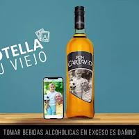 Promoción: Ron Cartavio Gana: Una botella digital de carti personalizada