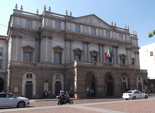 Teatro alla Scala is Milan's famous opera house