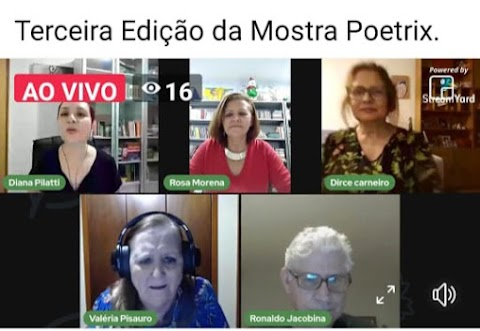 Rosa Morena participa da III Mostra Poetrix