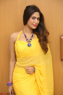 Nishigandha in Yellow backless Strapless Choli and Half Saree Spicy Pics 167.JPG