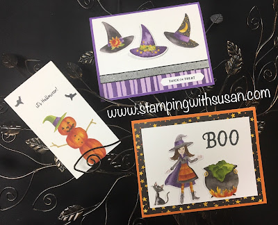 Stampin' Up! Stampin' Up! Toil & Trouble Suite, Cauldron Bubble Bundle, www.stampingwithsusan.com
