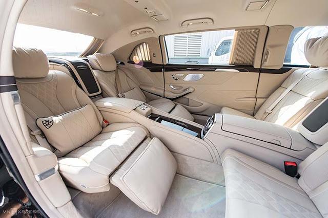 Mercedes-Maybach S650 Pullman – limousine ba khoang cho khách Việt