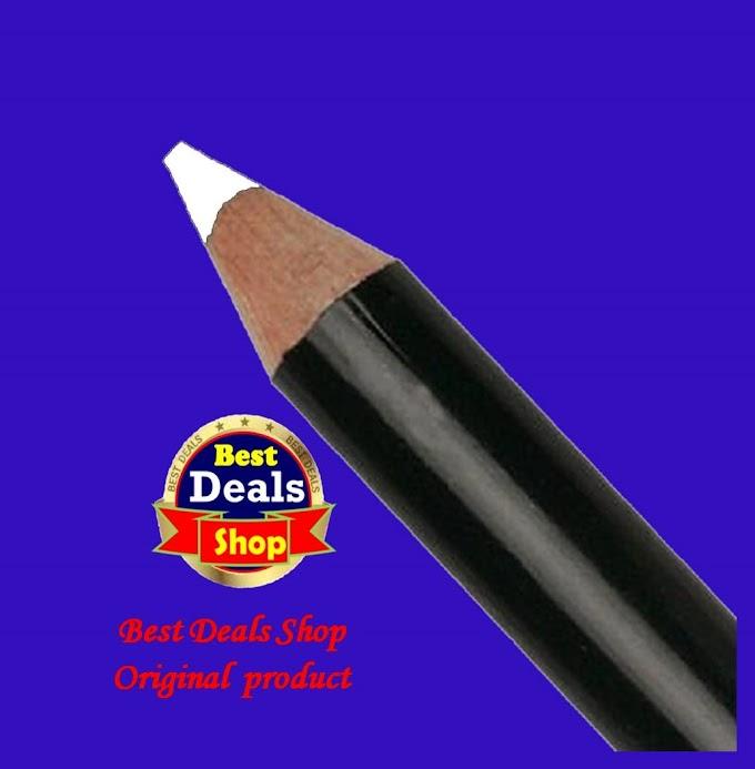 White kajol Eyeshadow white Eyeliner pencil kajol Brand Eyeliner sada kajol