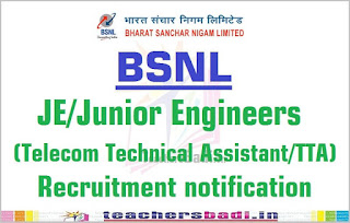 Image result for bsnl junior engineer recruitment 2017
