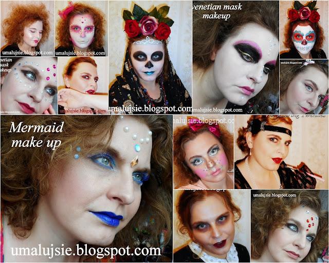 Garść moich makijaży na HALOWEEN
