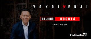TOUR Colombia de YOKOI KENJI en Bogotá 2019