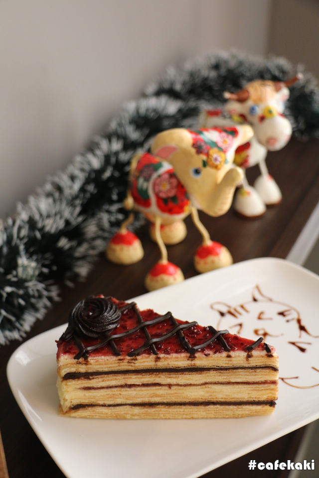 Chocolate Berry Mille Crepe - RM13.90
