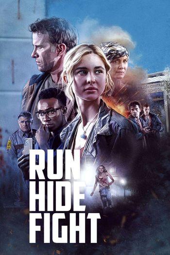 Run Hide Fight 2021 480p 350MB BRRip Dual Audio [Hindi - English]