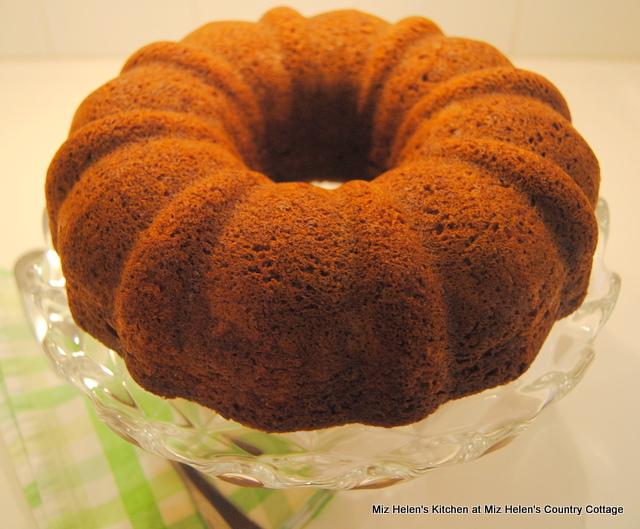 Pistachio Bundt Cake at Miz Helen's Country Cottage