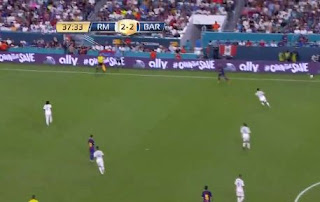 HT: Real Madrid vs Barcelona 2-2 Video Gol
