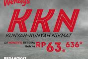 Promo Wendys Paket KKN Harga Spesial Berdua Rp.63.636 Periode 17-31 Maret 2020