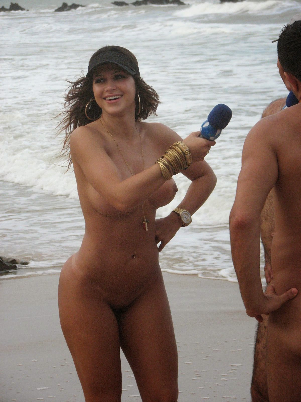 Similar nude brazilian on beach that