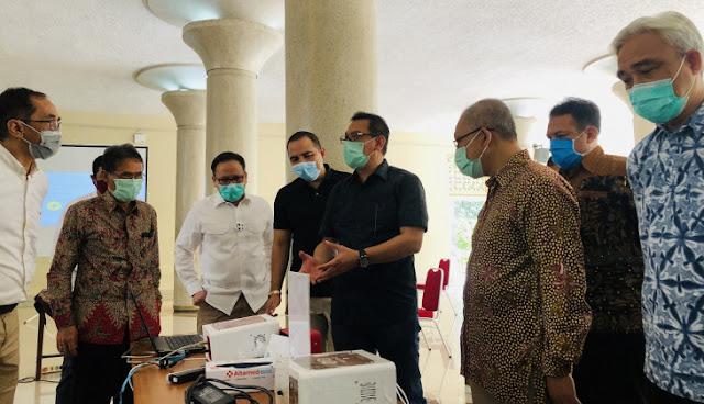 Hembusan Nafas Sekelas Swab Test Untuk Deteksi Covid-19: GeNose Karya UGM