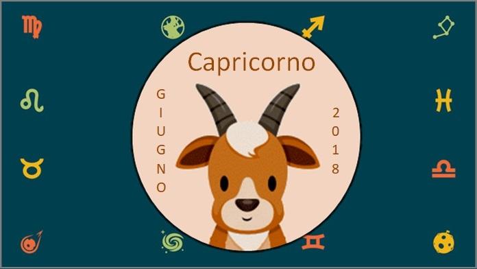 Oroscopo giugno 2018 Capricorno