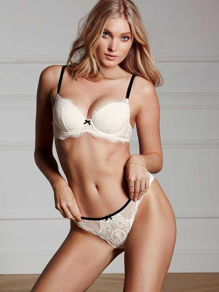 fb21f4d1f5e Elsa Hosk smoulders for new Victoria s Secret shoot