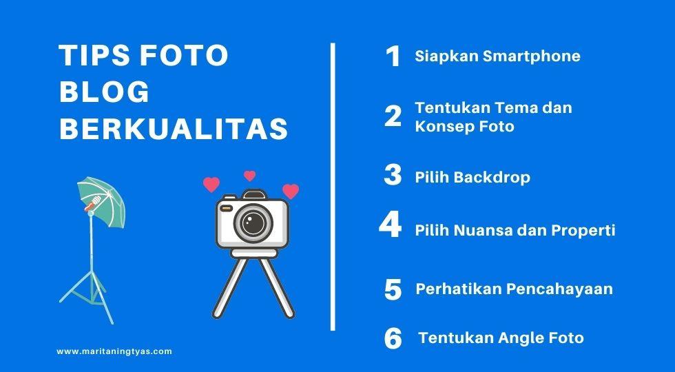 tips membuat foto blog berkualitas