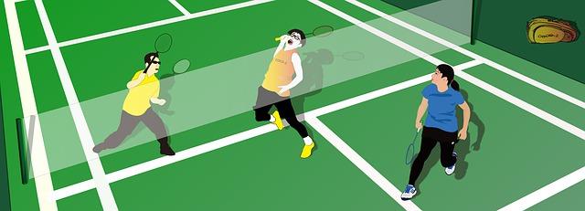 Panjang net badminton