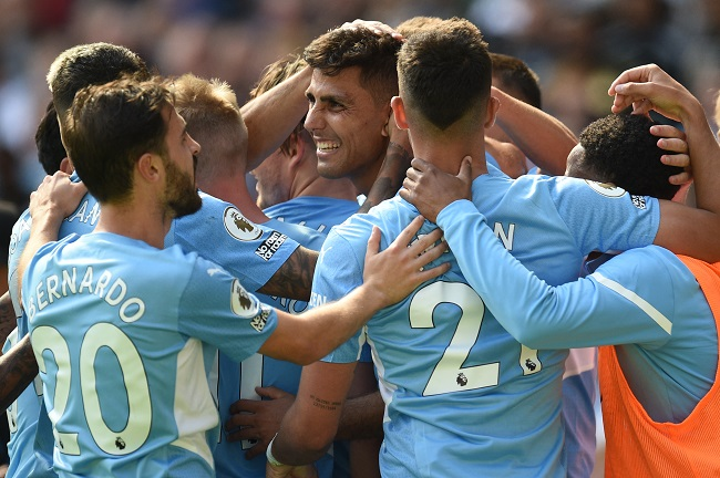 Manchester City Thrash Arsenal 5-0