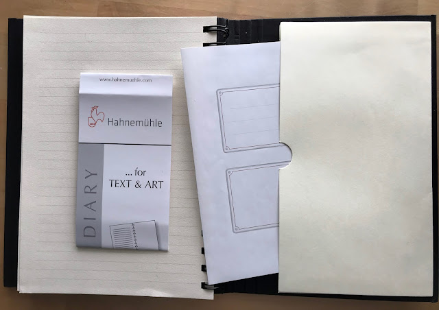 review of Hannemühle's Sketch Diary, Alice Hendon
