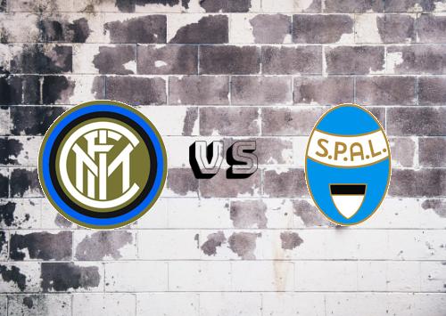 Internazionale vs SPAL  Resumen y Partido Completo