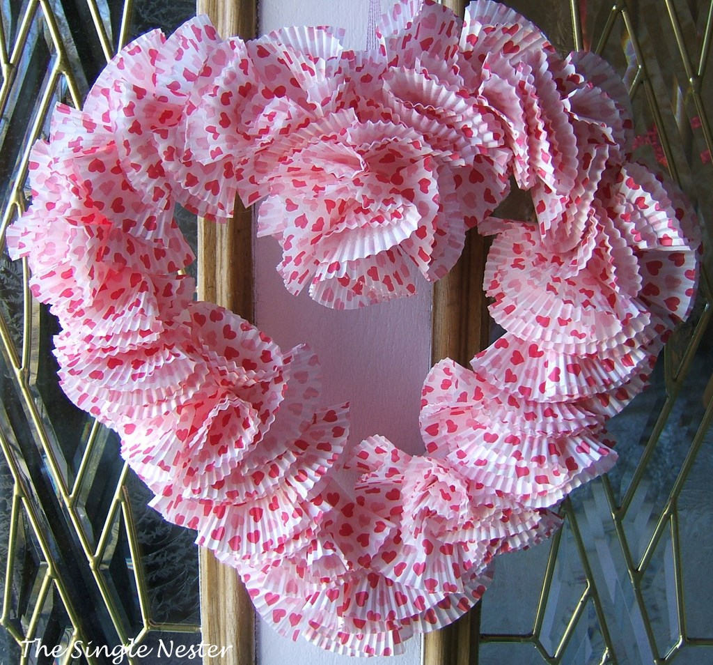 Valentine Wreath Revisted.