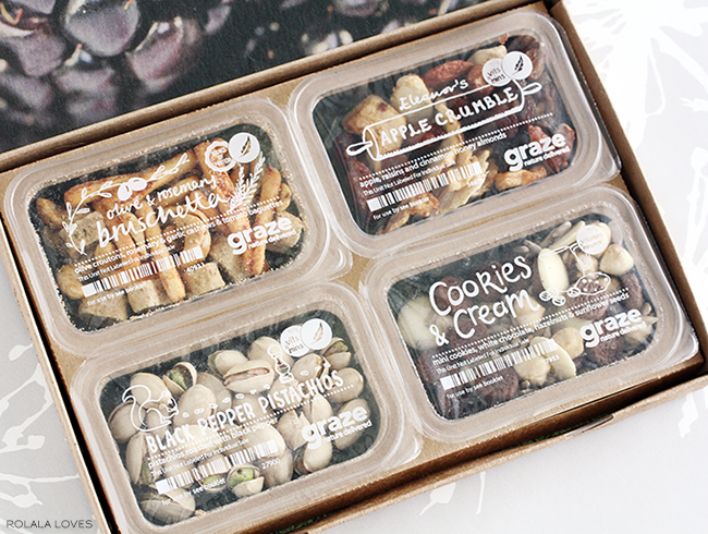 Graze, Grace Snacks, Graze Review, Graze Nibblebox