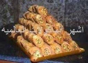 طريقه عمل الكنافه المبرومه بالقشطه