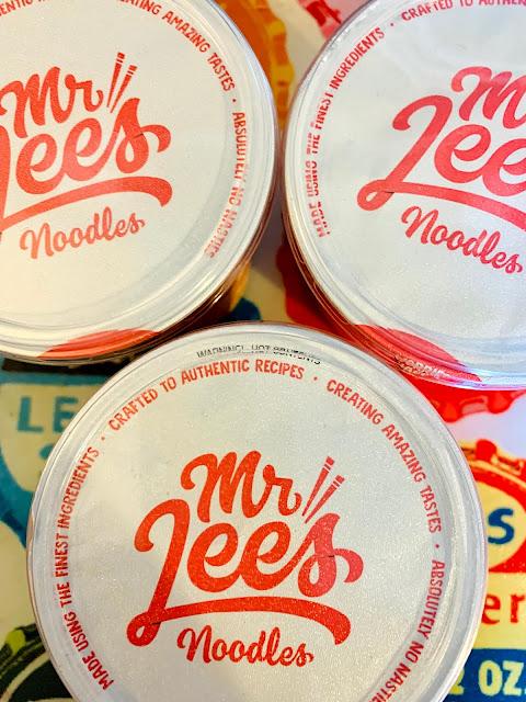 Mr Lee's noodle pot lids