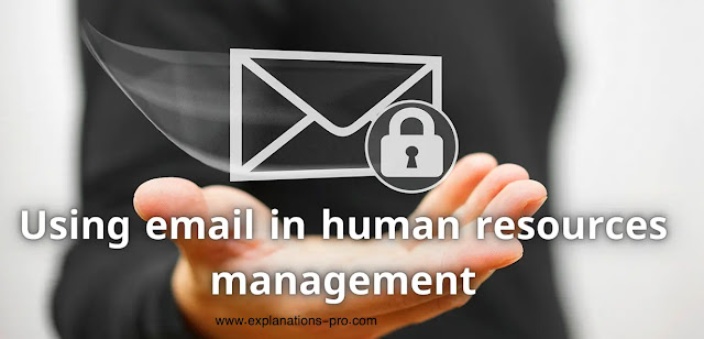 Using email in human resources management