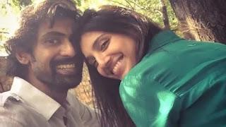 rana daggubati with fiance miheeka bajaj
