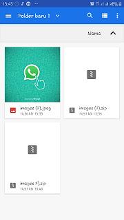 Pilih dokumen lainnya yang ingin dikirimkan melalui whatsapp agar terkunci