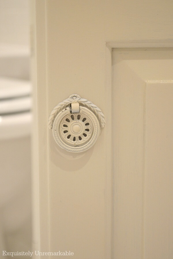 Vintage Ring Drop Pull Bathroom Hardware