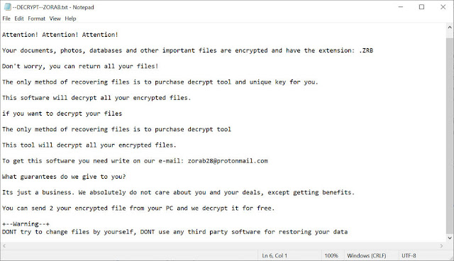 ZORAB (Ransomware)