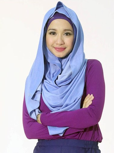 contoh model hijab terbaru 2017