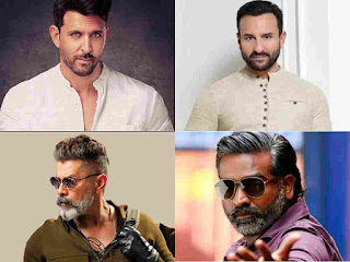 Saif Ali Khan taking high charges to Play Role with Hrithik Roshan in Vikram Vedha