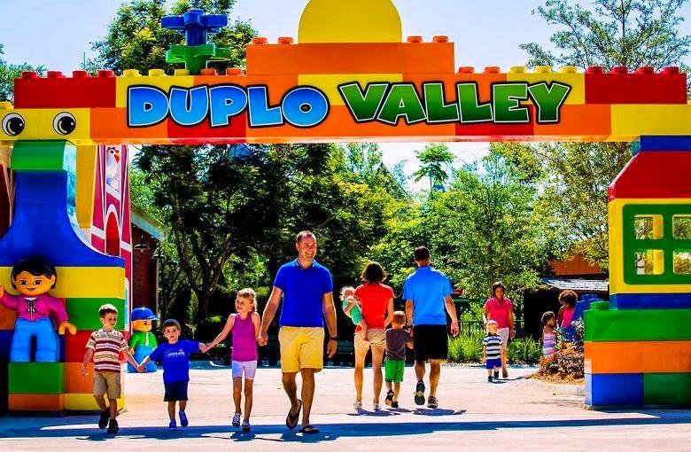 Duplo Valley na Legoland em Orlando