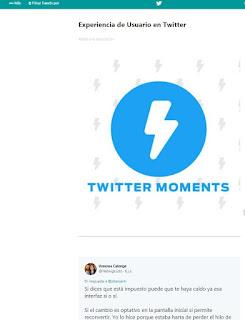 como crear un momento en twitter