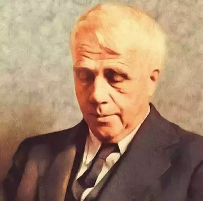 Robert Frost was born is San Francisco on 26th March, 1874. His family was from New England. Frost's mother was a poetess herself and wanted to name her son after Robert Burns, the great Scot poet (Frost's mother was a Scot). Frost's father wanted to name him after General Lee, hence Frost's full name is Robert Lee Frost.