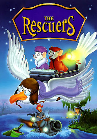 Poster Of The Rescuers In Dual Audio Hindi English 300MB Compressed Small Size Pc Movie Free Download Only At worldfree4u.com