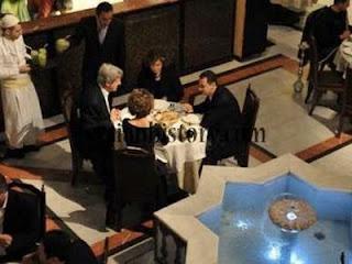 la proxima guerra john kerry y su esposa almuerzo privado con assad siria damasco 2009