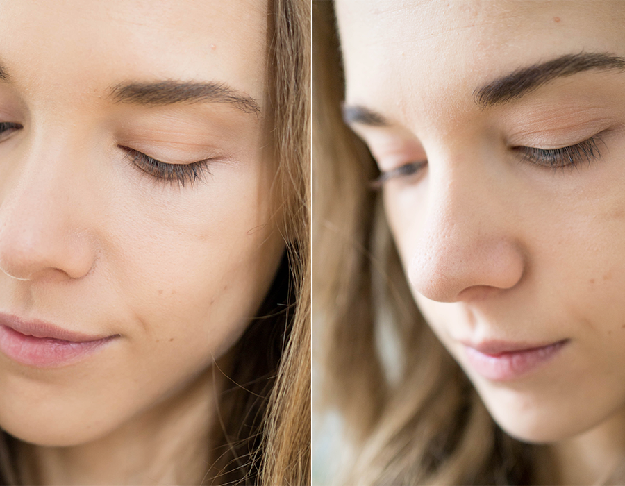 Xlash ripsiseerumi ennen ja jälkeen - Xlash Eyelash Serum before and after