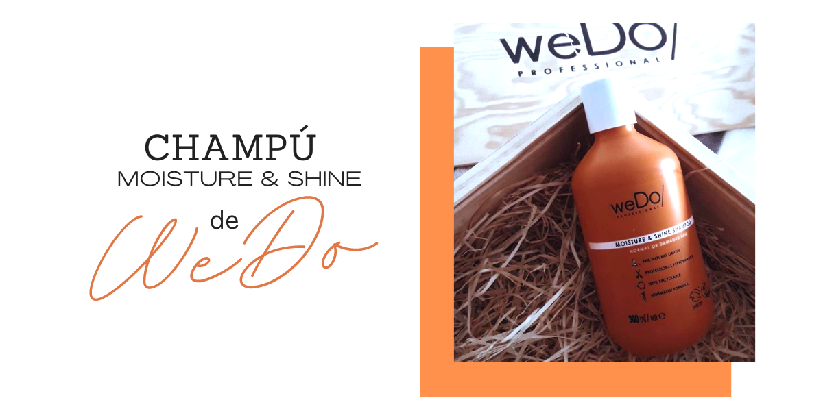 CHAMPÚ MOISTURE & SHINE DE WEDO