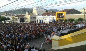 Fiéis católicos desembarcam hoje em Guarabira para a Festa de Cristo Rei