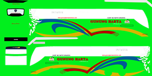 livery gunung harta hijau mod jb3 shd tronton by wsp mods