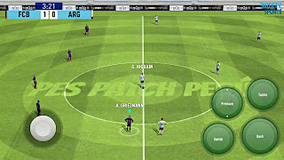 PES 2019 Mobile Android Graphics Patch New Ground Best Graphics