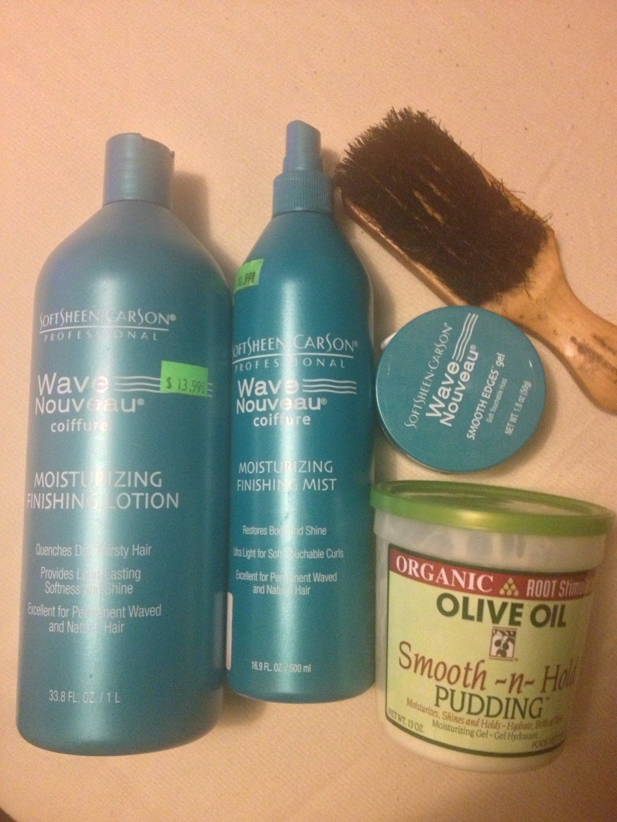 These Are The Wave Nouveau Products I Use