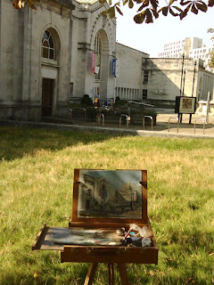 Southampton city gallery painting sketch